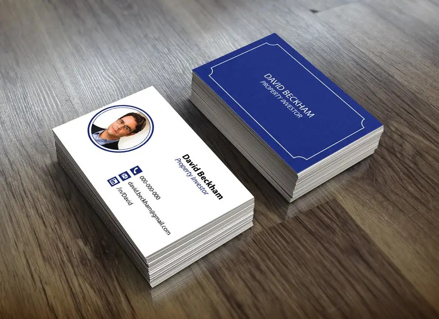 Entry #43 by Vavika for Personal Business Cards - design for a