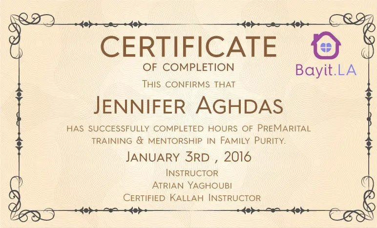 Entry #1 by hamzaaliismy for make a certificate of completion