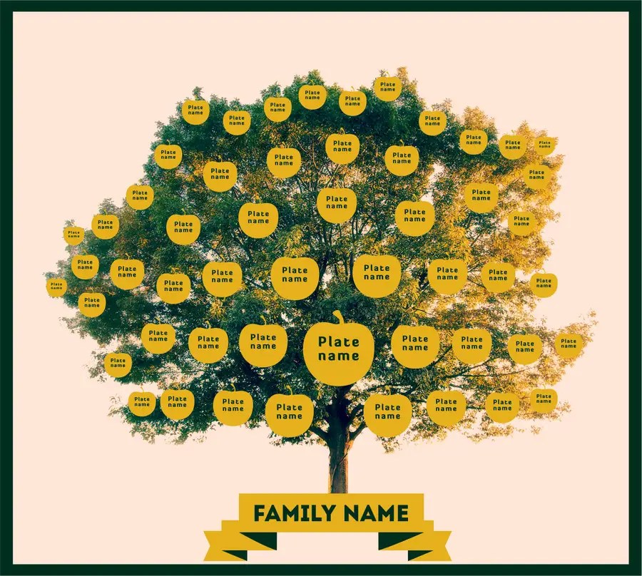 Entry #25 by kashifawank for Family Tree Background and Name Plate