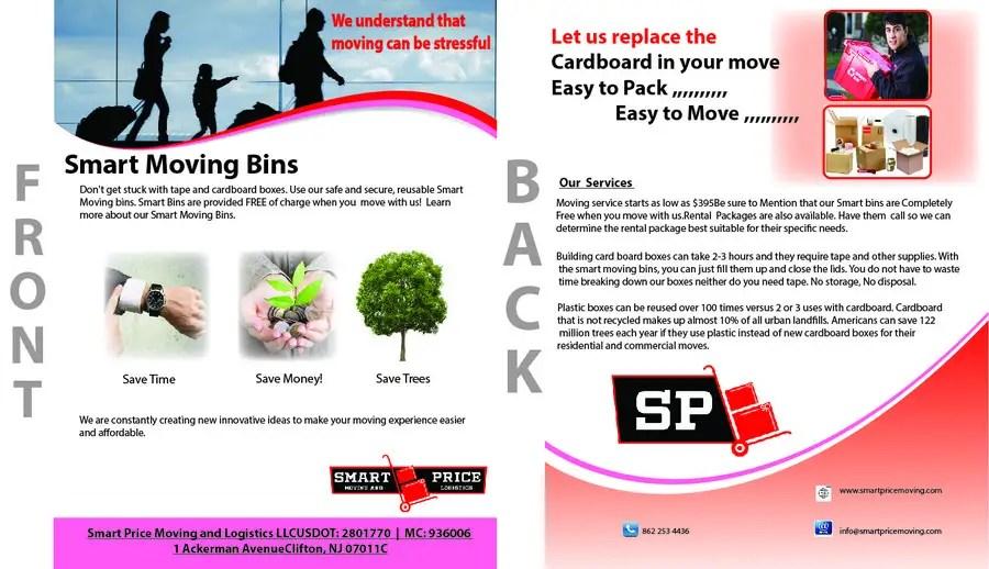 Entry #92 by muhammadsabir736 for Design a Flyer for Smart Bins