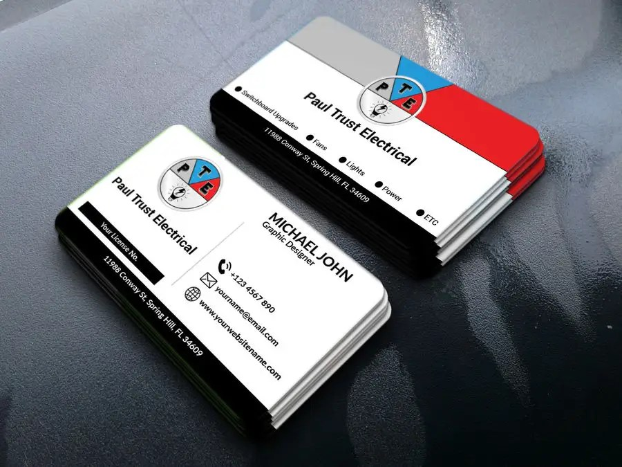 Entry #92 by ASalam18 for Design some Business Cards For an