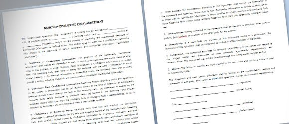 simple business agreement template