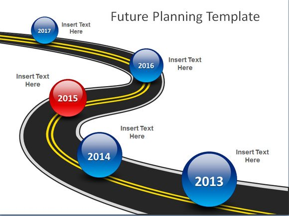 Free Roadmap Powerpoint Template Simple Powerpoint Product Roadmap - roadmap powerpoint template