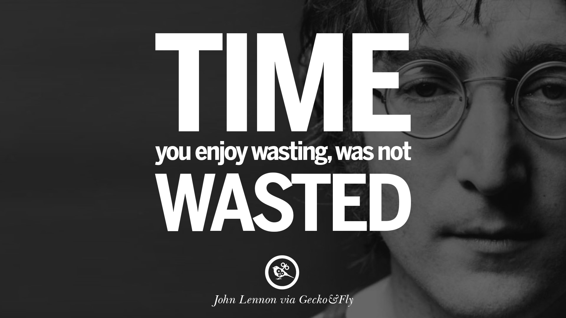 Wasting Time Quotes Wallpaper 15 John Lennon Quotes On Love Imagination Peace And Death