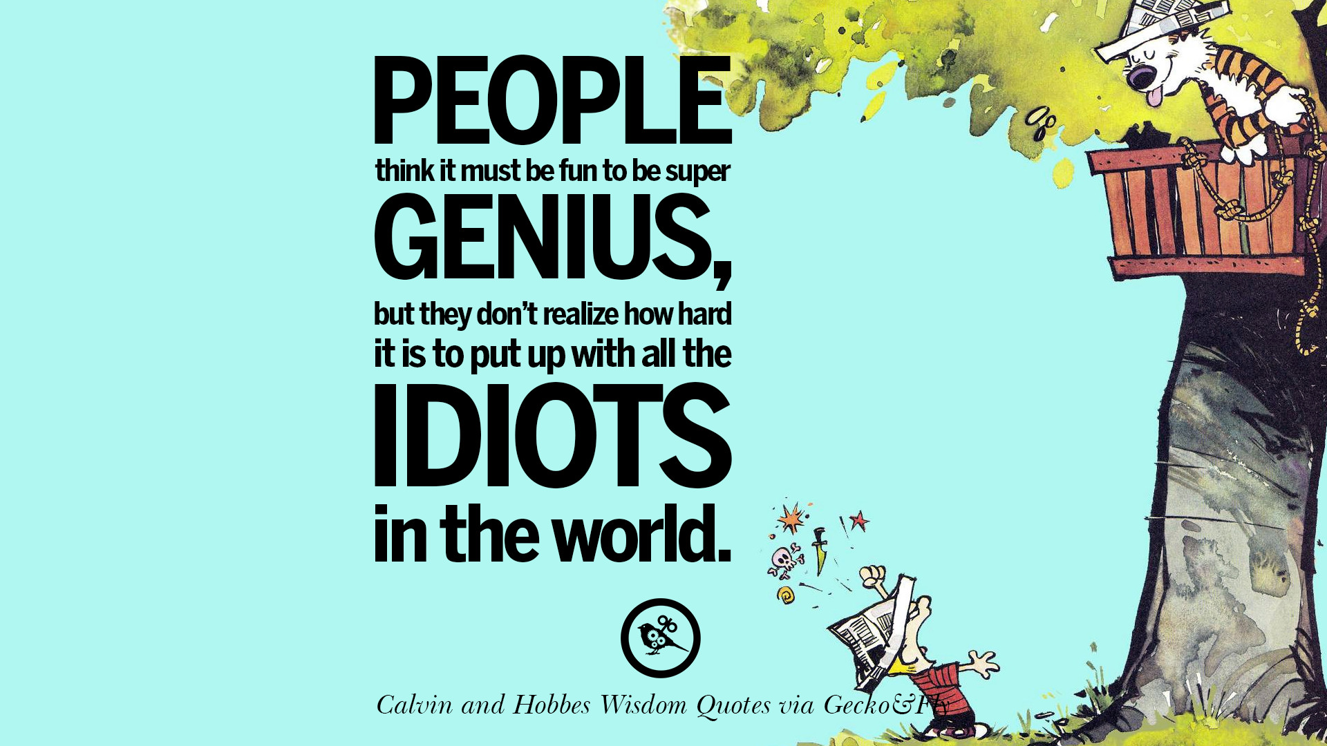 Fall Live Wallpaper Phone 10 Calvin And Hobbes Words Of Wisdom Quotes And Wise Sayings