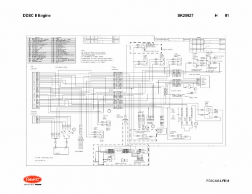Detroit Series 60 Ecm Wiring Diagram On Ddec Iii Iv Wiring Diagram