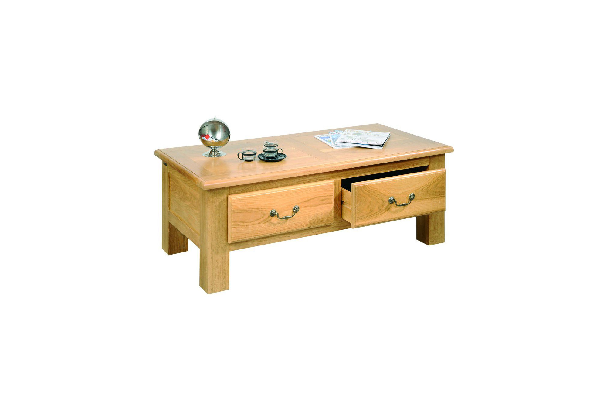 Table Basse Chene Table Basse Chene Massif Meuble D 39occasion Hellin