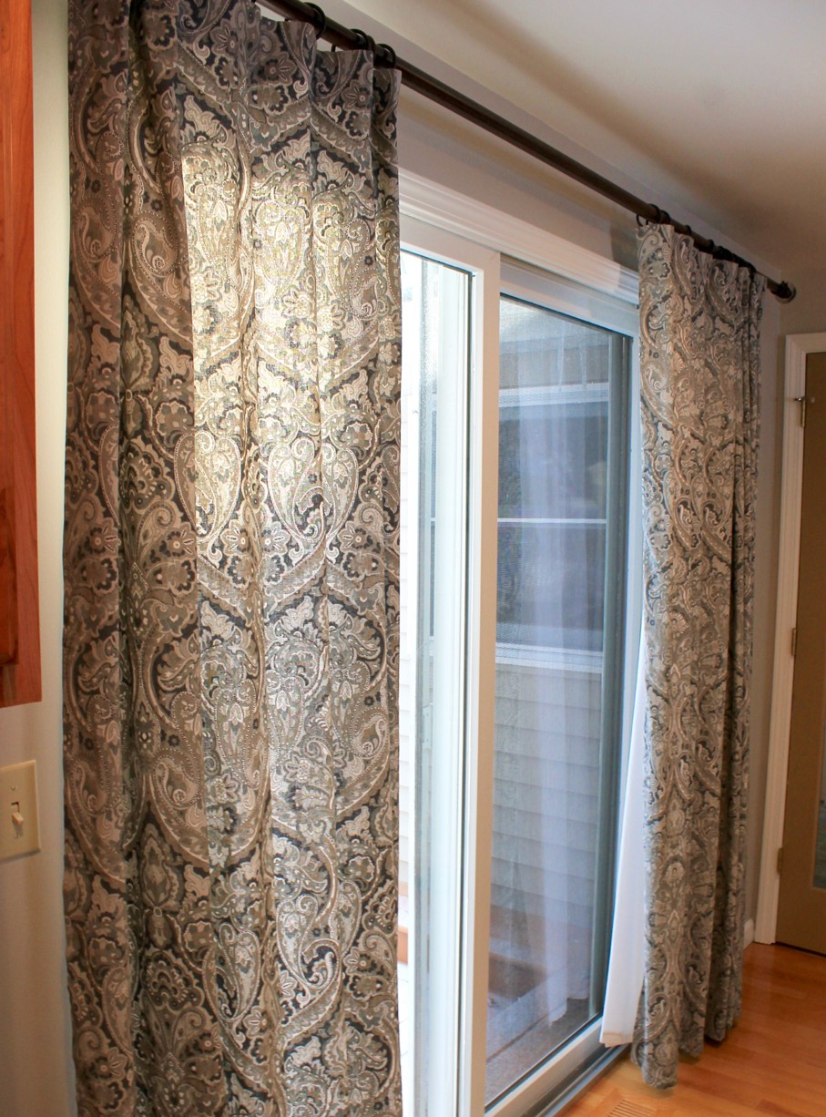 Curtains For Large Patio Doors How To Choose The Best Curtains For Your Sliding Glass Door