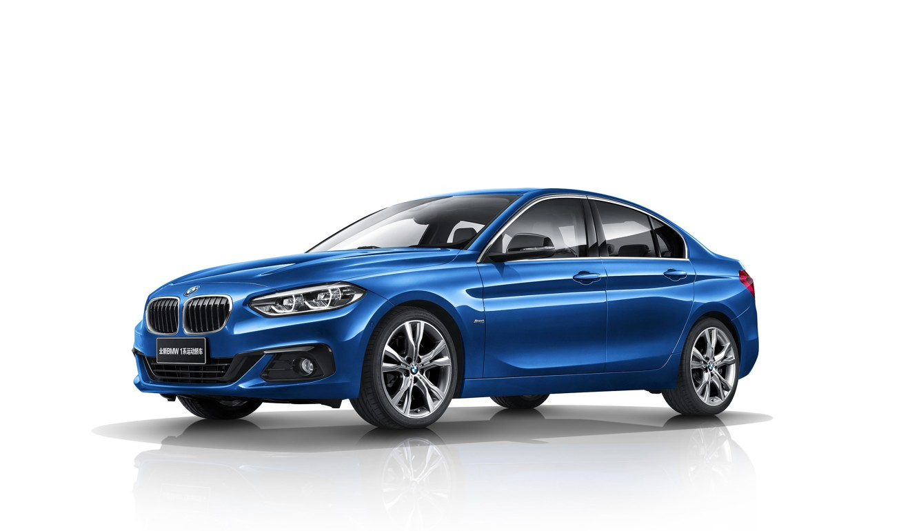 1 Series Saloon Bmws 1 Series Saloon Thrives In Shanghai Exclusively For