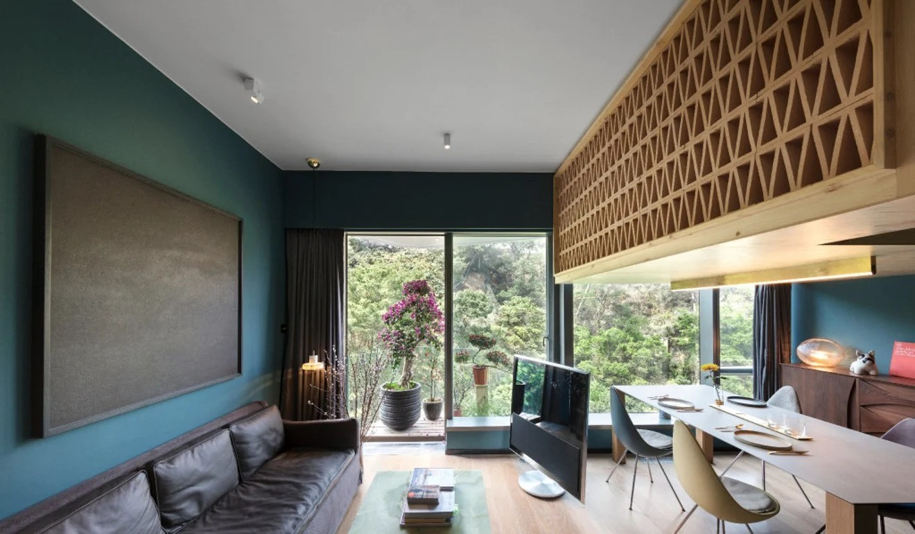 A Living Room Design 8 Hong Kong Nano Flats That Prove Small Can Still Be Beautiful