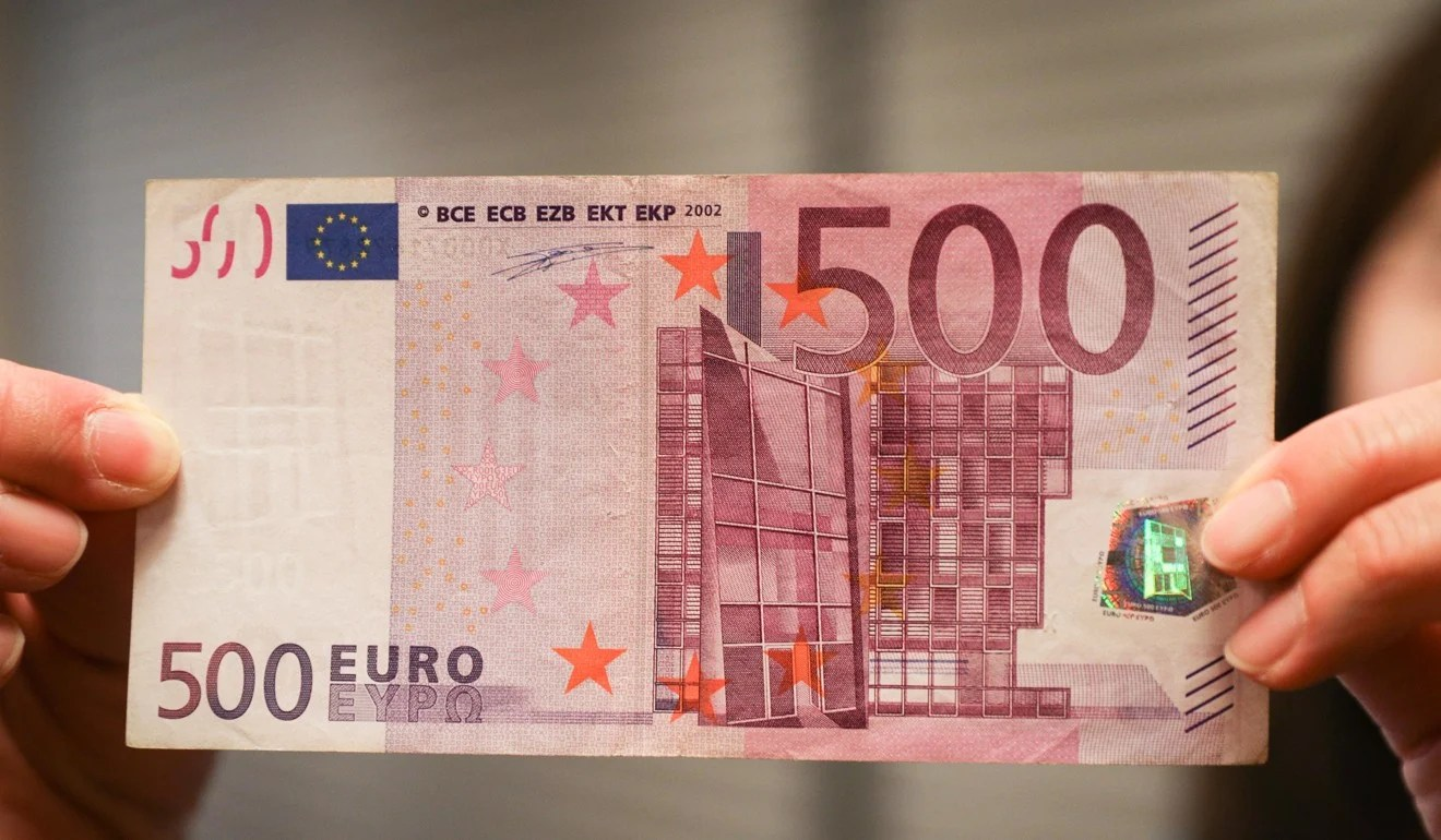 1 Libra Euros Death Of The 500 Euro Note Bill Favoured By Criminals And