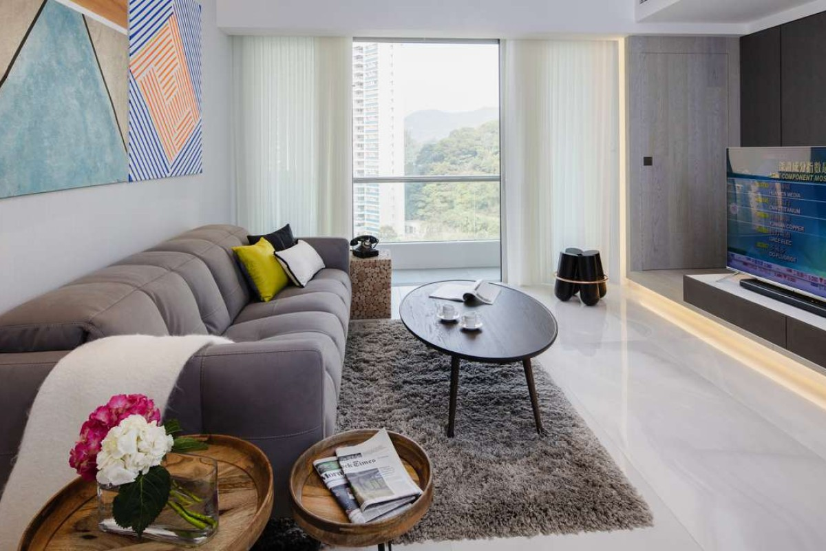 Hong Kong Apartment Interior A Dated Hong Kong Apartment Gets A Contemporary Makeover