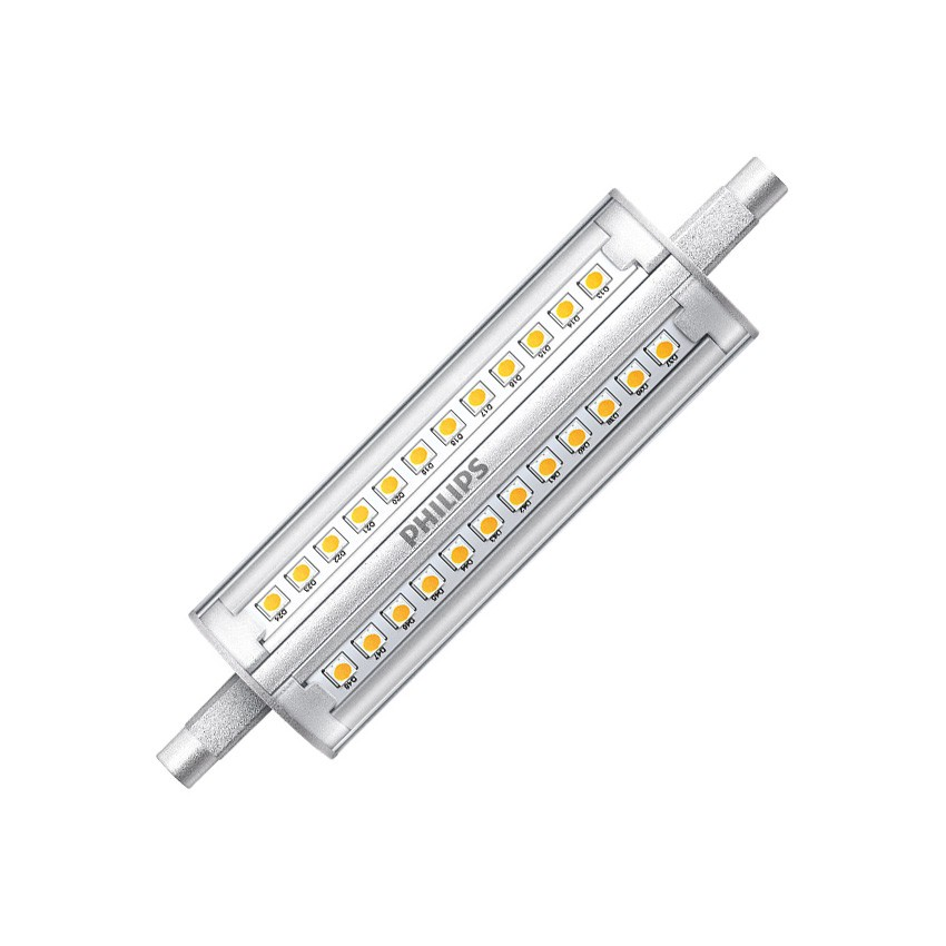 éclairage De Secours Led Ampoule Led R7s Philips Corepro 118mm 14w - Ledkia France