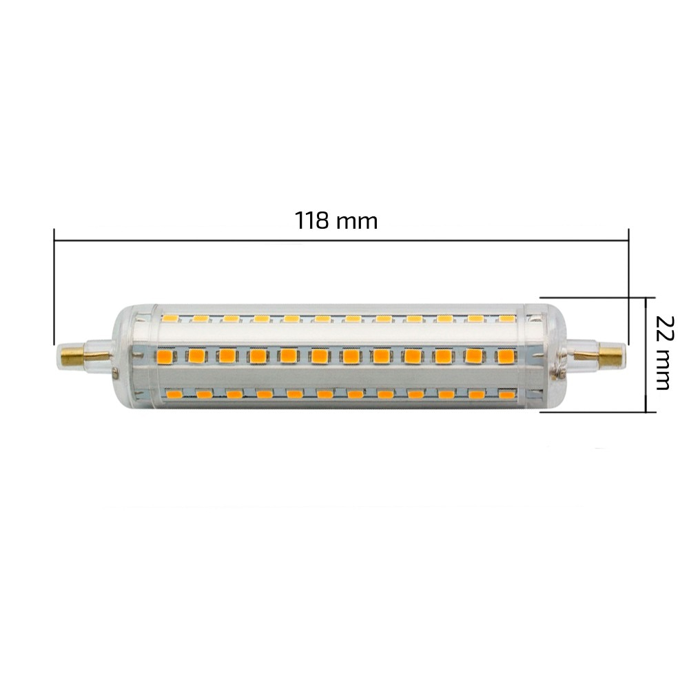R7s Led Dimmable Slim 118mm R7s 10w Led Bulb Dimmable Ledkia
