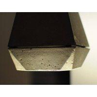 Concrete pendant lamp by Innermost design James Bartlett