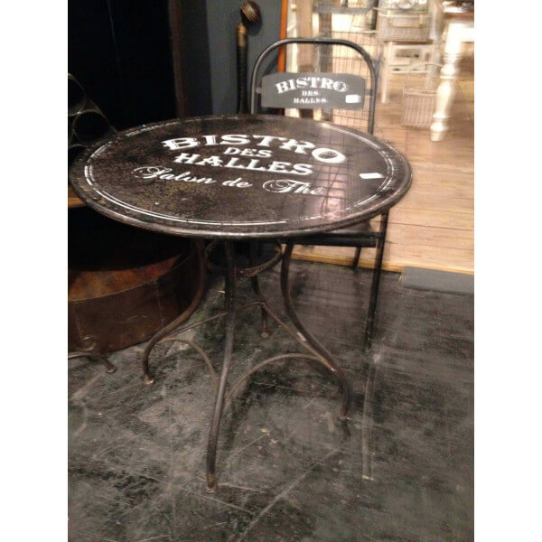 Tables Rondes Bistrot Table De Bistro Vintage Ronde