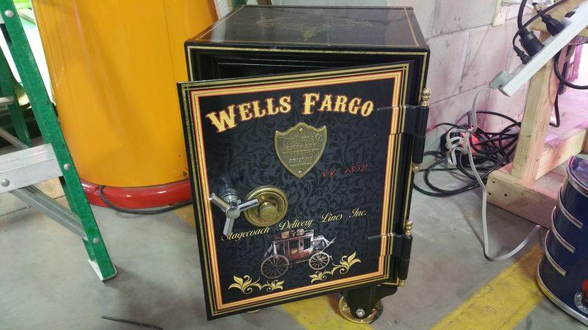 Wells Fargo Restored Safe 14x24x14 | M466 | Kissimmee 2017