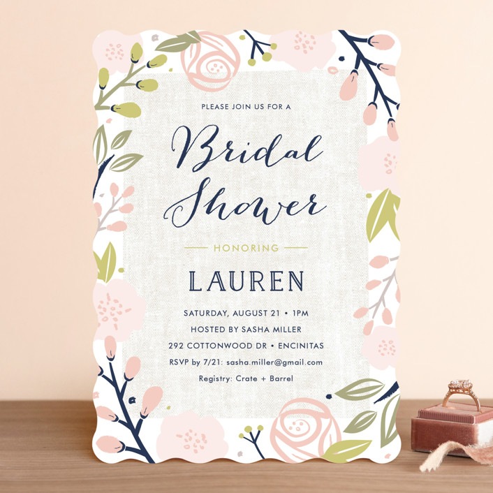 Spring Shower Bridal Shower Invitations by Carolyn MacLaren Minted