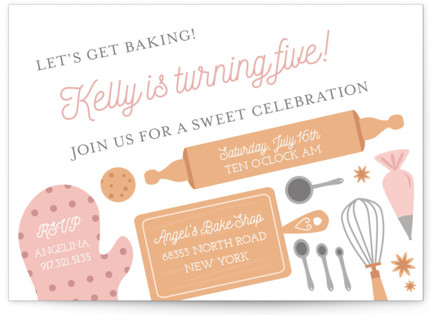 Dessert Themed Kids Birthday Party Minted