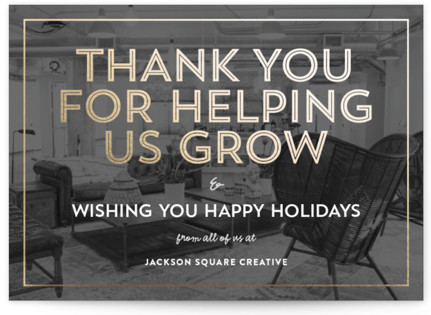 Business Thank You Cards Wording And Sample Messages