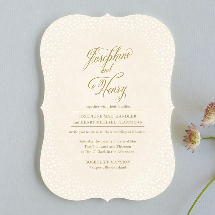Baby\u0027s Breath Wedding Invitations by Laura Hankins Minted