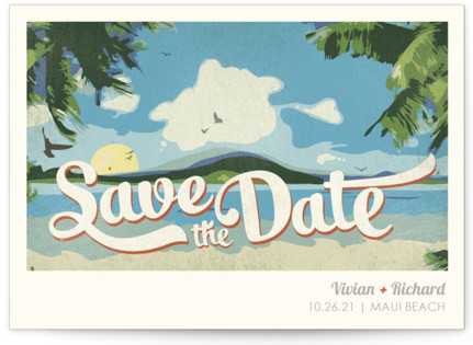 The Most Vintage Inspired Save The Date Cards