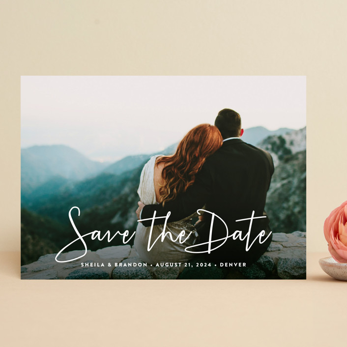 save the date card - Josemulinohouse