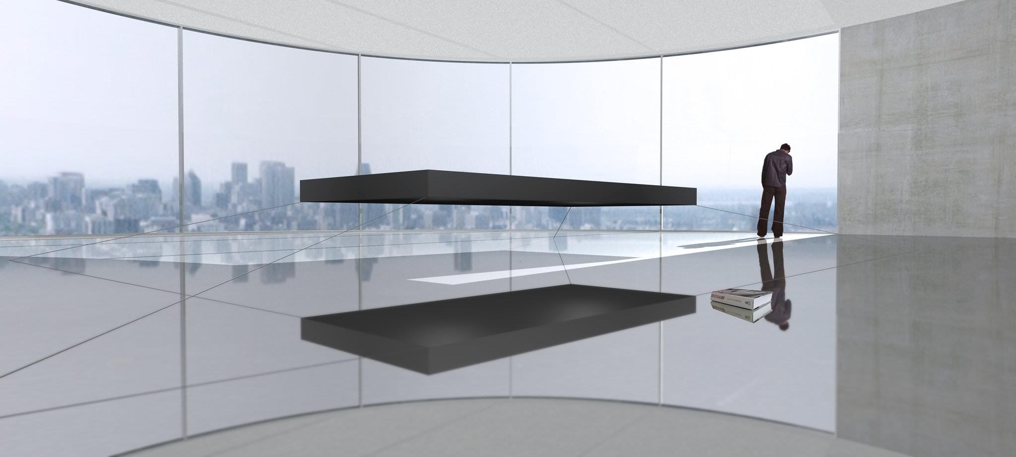 Janjaap ruijssenaars magnetic floating bed