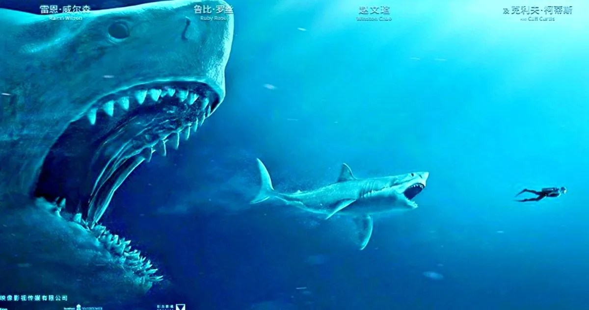 Hd Great White Shark Wallpaper The Meg International Trailer Has Scary New Shark Footage