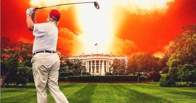 Michael Moore's Fahrenheit 11/9 Poster Nukes the Trump White House
