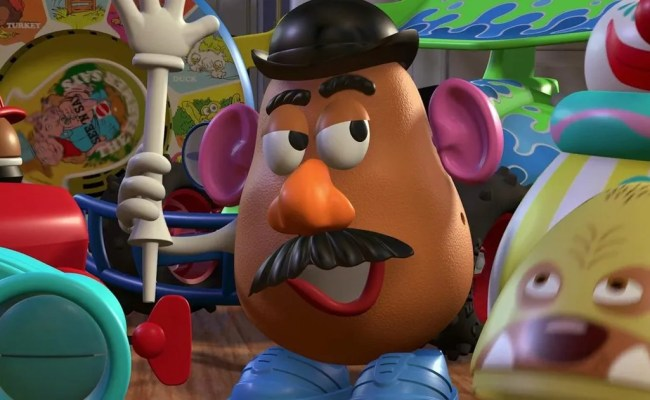 The Late Don Rickles Is Still Playing Mr Potato Head In