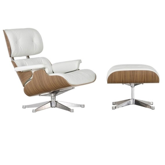 James Eames Lounge Chair Eames James Lounge Chair Nogal - Sillones Modernos