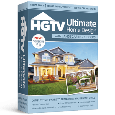 HGTV Ultimate Home Design with Landscaping & Decks 5.0 ...