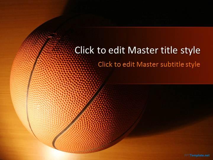 Free Basketball PPT Template - basketball powerpoint template