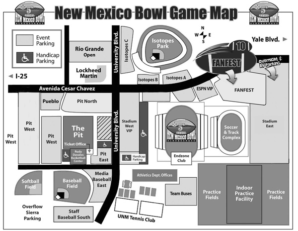 Your guide to Northern New Mexico - NM Bowl Edition! - CougCenter