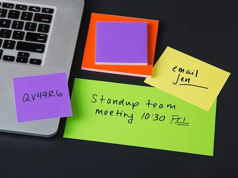 Static Dry-Erase Sticky Notes by SlickyNotes The Grommet