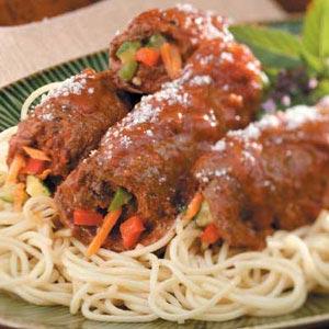 Round Steak Roll-Ups Recipe | Taste of Home