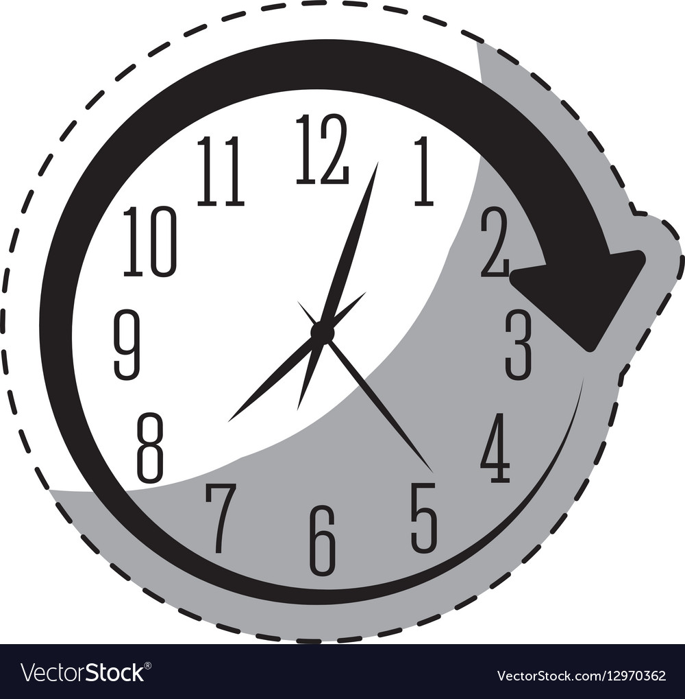 Black Wall Clock Black Wall Clock Icon Image