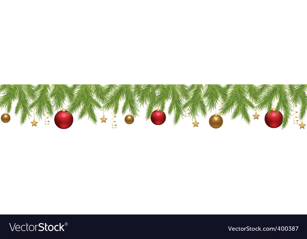Merry Christmas banner Royalty Free Vector Image