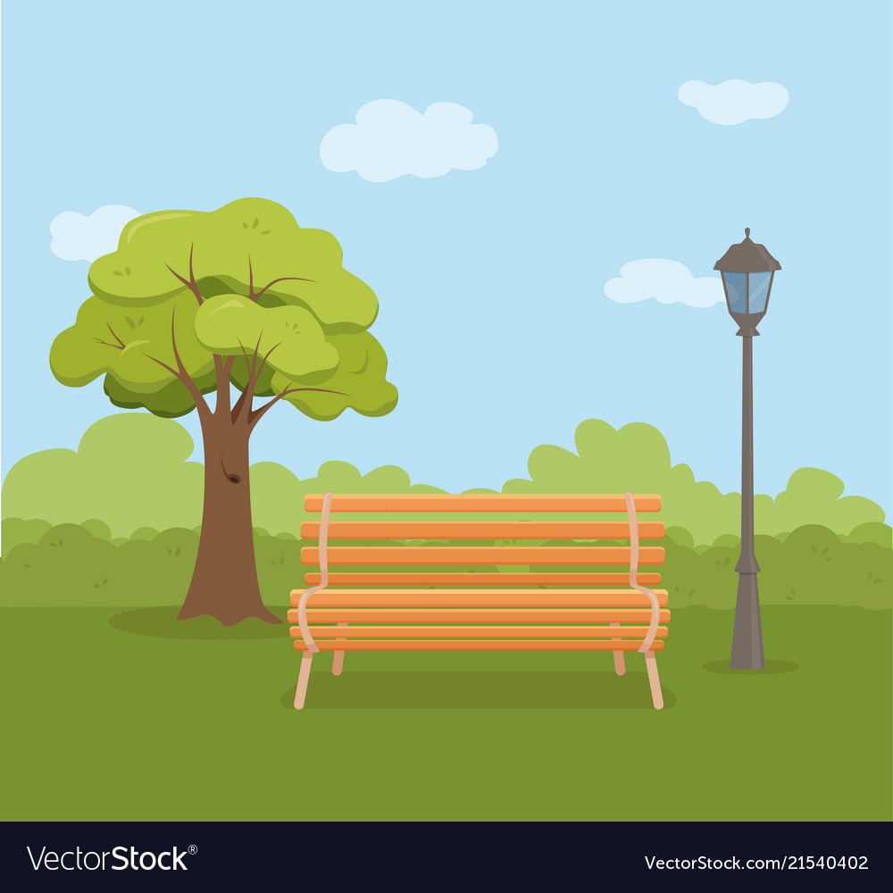 Outdoor Kinder Kinder Playground Vector Image