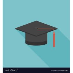 Small Crop Of Graduation Cap Icon