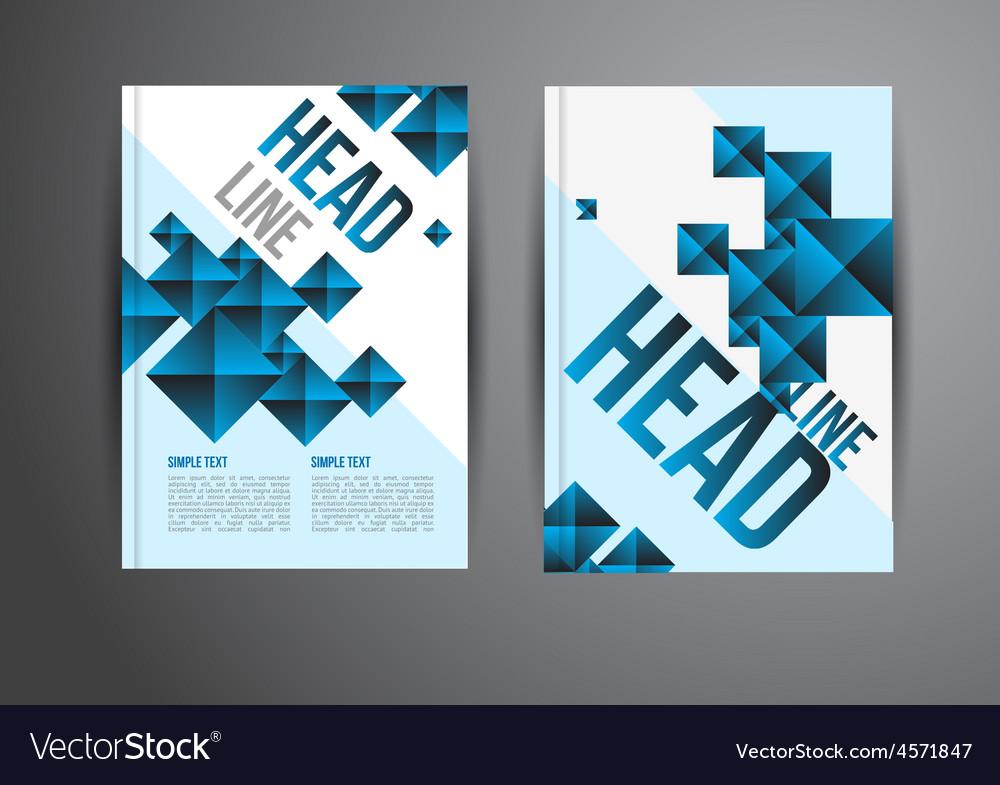 Flyer template Royalty Free Vector Image - VectorStock