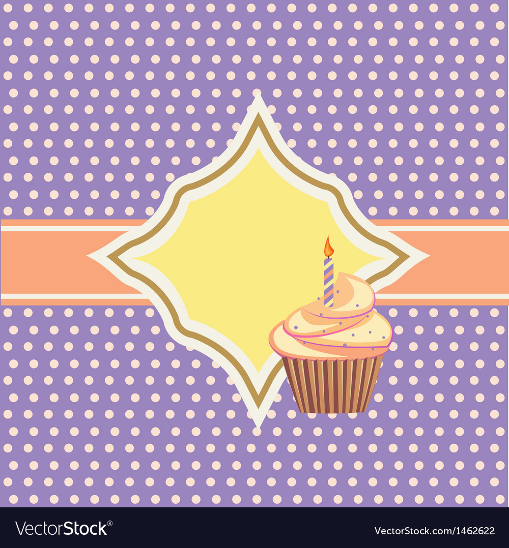 Décoration De Cupcake Background With Cupcake And Decoration