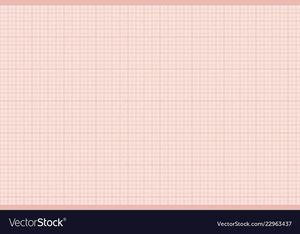 Beige graphic lined paper technical drawing paper Vector Image