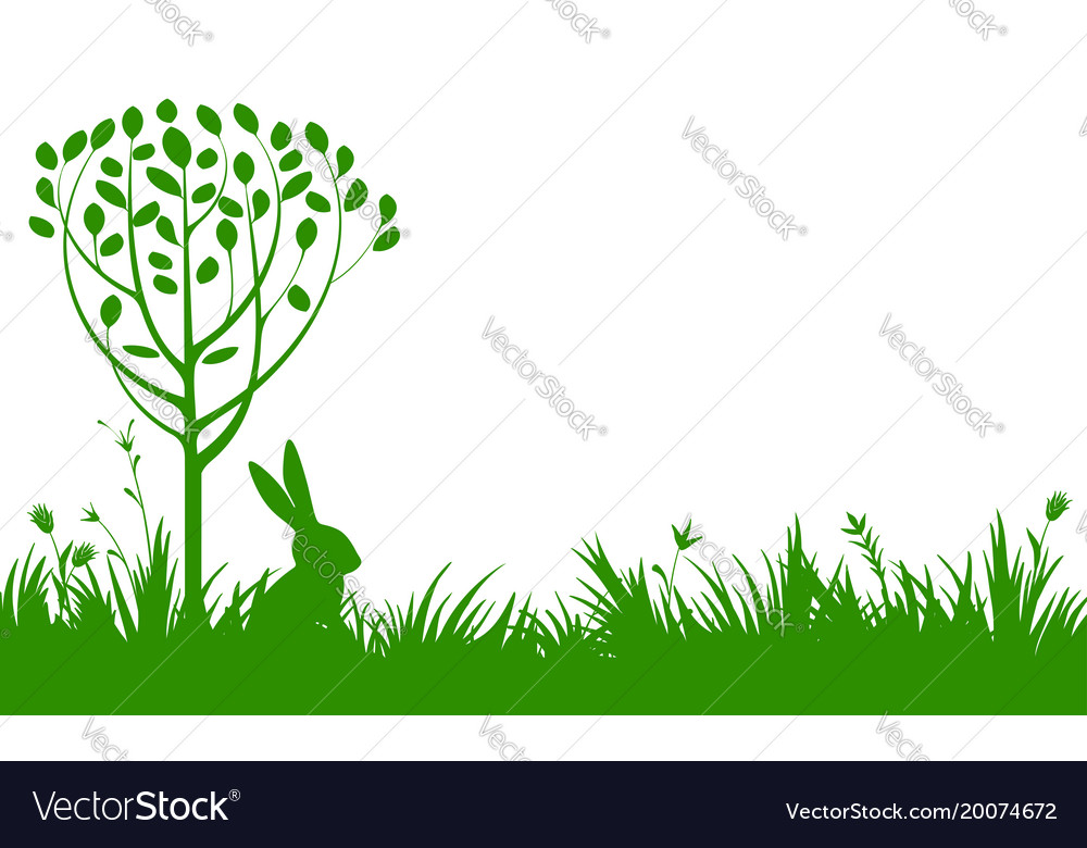 Easter greeting card template Royalty Free Vector Image