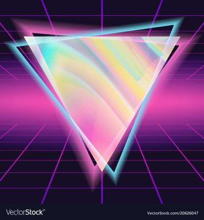 80s background 80s vintage style design Royalty Free Vector