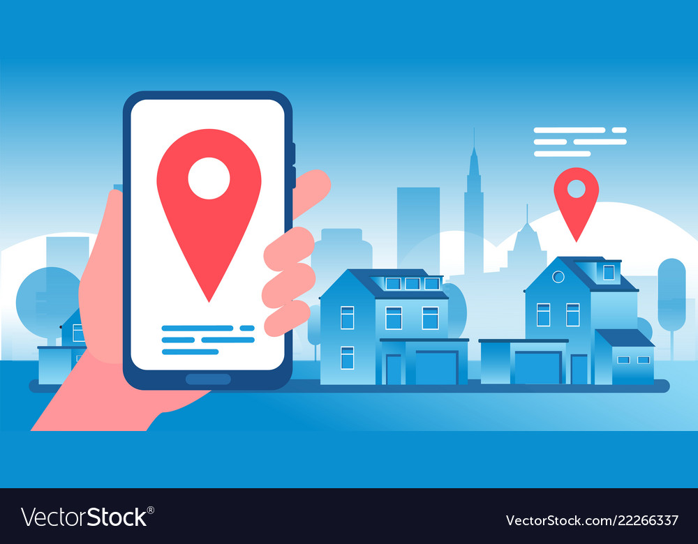 Real estate concept buying selling and renting Vector Image