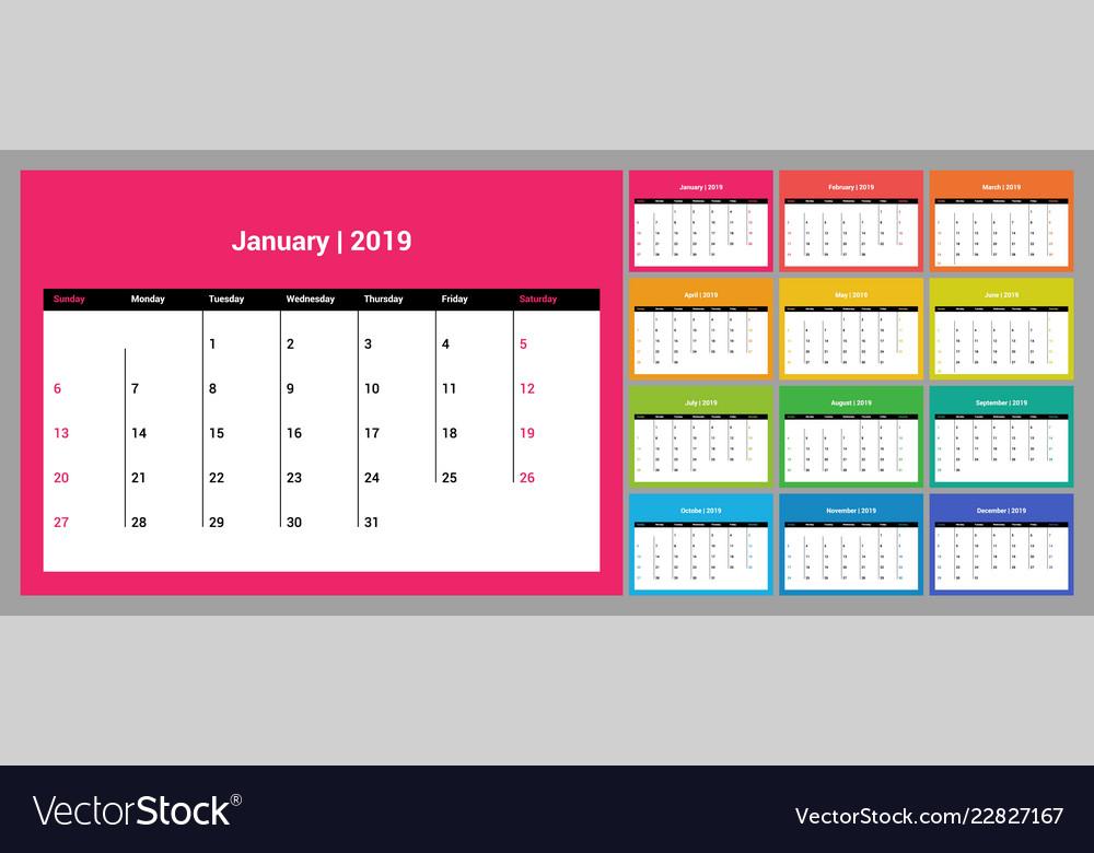 printable 2015 and 2019 calendar - Pinarkubkireklamowe