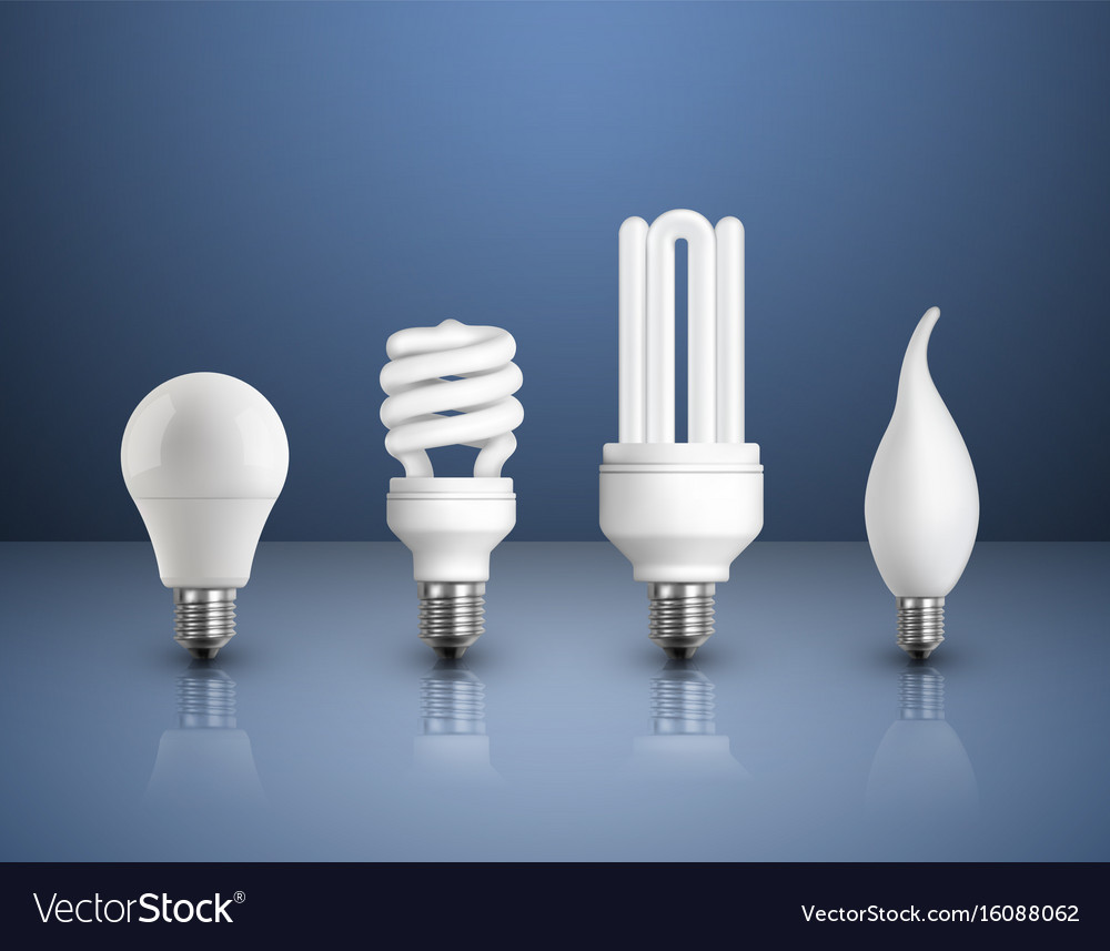 Modern Lamps Led Realistic Modern Bulbs Collection