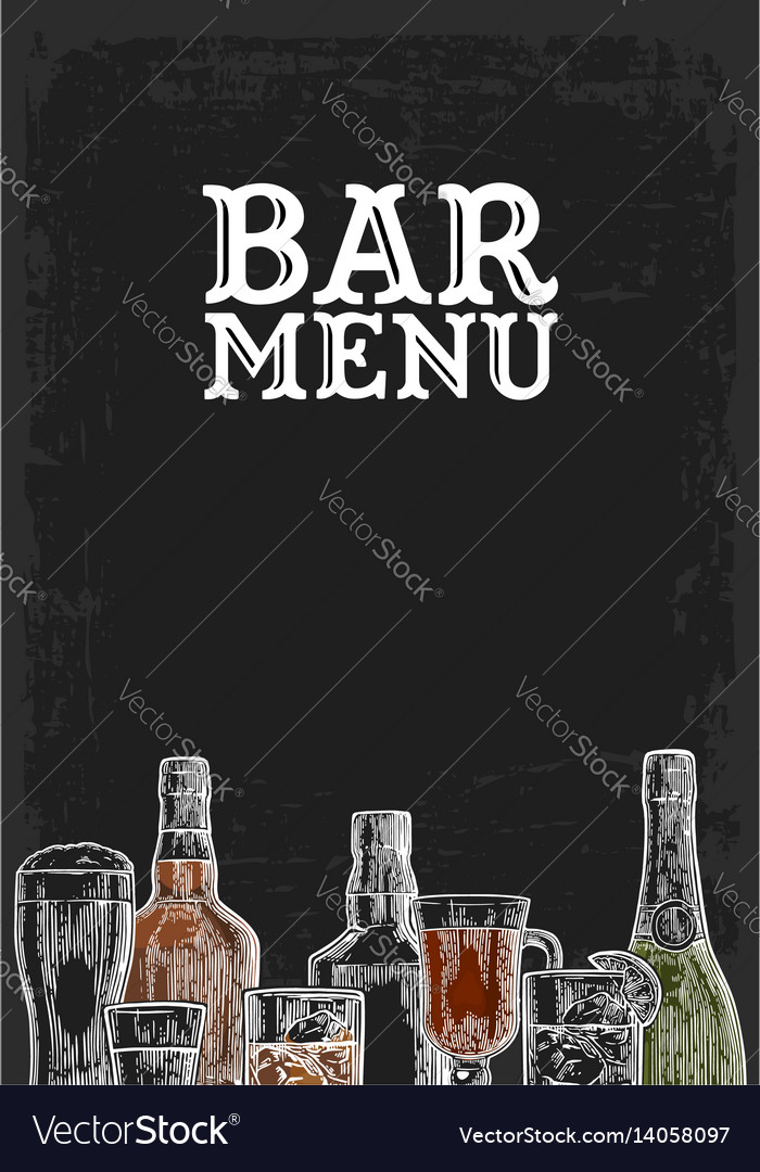 alcohol menu template - Alannoscrapleftbehind